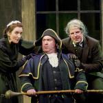 Karen Kirby & Declan McGrath as Mr & Mrs Sowerberry. Brian Mills as Bumble