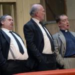 Jimmy Cowna, Frank Fee & Jim McKeown as John Willie, Willie John & Reverend Stokes